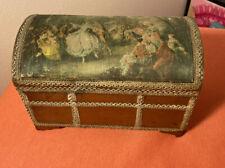 Nicolas Lancret The Dancer Camrgo Vintage Music Jewelry Box Silk Top