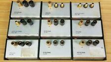 LOT OF 9 Electro Scientific Industries / ESI Standard Resistor SR1 Kilohms