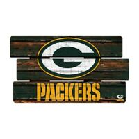 Green Bay Packers Defense Holzschild XL  63 cm ! !,NFL Football,Fence Sign