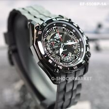 53f072e8565a CASIO EDIFICE EF-550BP-1A F-1 CHRONOGRAPH MENS WATCH