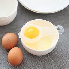 Plástico Transparente Separador De Yema De Huevo-Herramienta De Tamiz de Cocina Artefacto Colador De Alimentos