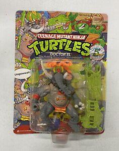 Vintage TMNT Teenage Mutant Ninja Turtles ~Doctor El~ SEALED CARDED Figure