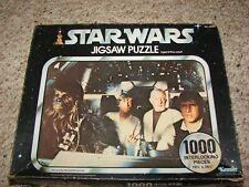 Vintage Kenner Star Wars 1000 Piece Jigsaw Puzzle of Millennium Falcon Cockpit