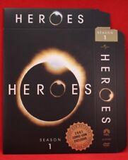 SDCC 2007 Heroes Exclusive First Run DVD Unused Package Season 1 TV Promo Kring