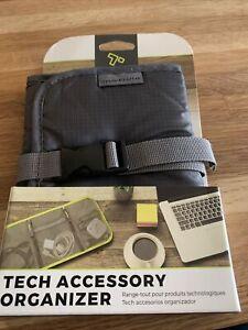 Travelon Tech Accessory Organizer, Charcoal