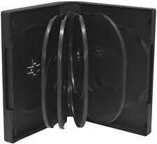10 DVD Hüllen 10er Box 33 mm für je 10 BD / CD / DVD schwarz