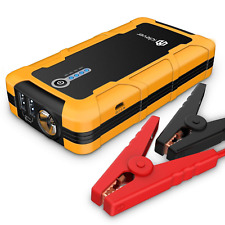 iclever 15000mAh Portable Car Jump Starter Auto Battery Charger Power Bank and