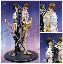 Anime Code Geass Lelouch of the Rebellion R2 Lelouch & Suzaku PVC Figure nobox