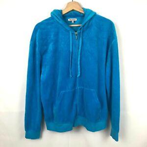 Juicy Couture Velour Jacket blue size xl
