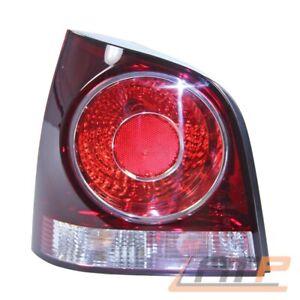 HECKLEUCHTE RÜCKLEUCHTE RÜCKLICHT ROT LINKS VW POLO 9N BJ 05-09
