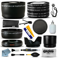10 Piece Ultimate Lens Package For Fuji Finepix S700 S5600 S5700 S5800