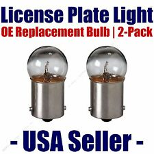 License Plate Bulb 2pk OE Replacement Fits - Listed Plymouth Vehicles - 67