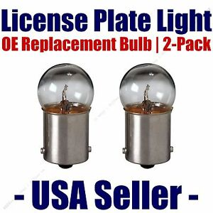 License Plate Bulb 2pk OE Replacement Fits - Listed Fiat Vehicles - 67