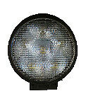 "WORK LIGHT 9~80 VOLTS 2200LM 9 X SUPER LED 3W FLOOD 4.3"" SEALED  VHY037"