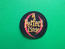 HEAVY METAL PUNK ROCK MUSIC FESTIVAL SEW ON / IRON ON PATCH:- A PERFECT CIRCLE