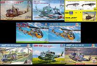 Italeri - Bilek - Revell - Testors 1/72 Bell UH-1 Iroquois 'Huey'
