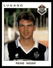 Panini Football 94 (Swiss) Rene Morf Lugano No. 89