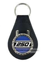 YAMAHA RD 250   MOTORCYCLE  leather  keyring keychain keyfob