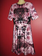 GABBY SKYE Women's Printed Floral Fit & Flare Dress - Size 6 - NWT