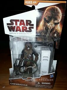 "Star Wars From SAGA LEGENDS CHEWBACCA  SL-15  Action Figure  3.75"" Tall"