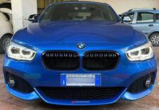 GRIGLIA ANTERIORE BMW SERIE 1 F20 F21 LCI 15/19 COPPIA CALANDRE NERA LUCIDA ABS