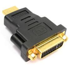 DVI femelle vers HDMI Mâle Adaptateur Moniteur Affichage Dual Link DVI-I 24 +5