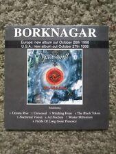 BORKNAGAR THE ARCHAIC COURSE CD PROMO CENTURY MEDIA BLACK METAL DIMMU BORGIR ICS