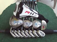 TaylorMade Jet Speed Titleist Irons Driver Woods Complete Golf Club Set Mens RH
