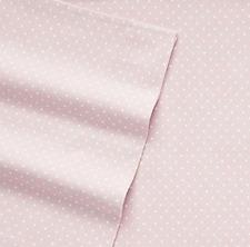 NEW Cuddl Duds Cotton Flannel Sheet Set Cal King Size Pink Polka Dot MRP $129.99