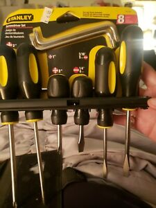 stanley 8pcs. Screwdriver set