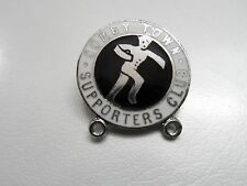 RARE OLD FOOTBALL BADGE CORBY TOWN FC.SUPPORTERS  NON LEAGUE  CHROME BROOCH PIN