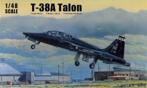 1/48 Trumpeter Models NORTHROP T-38A TALON U.S. Air Force Jet Trainer *SEALED*