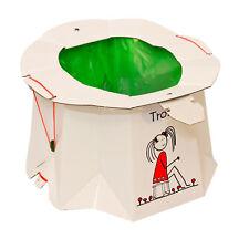 Pot jetable pour les enfants Trône hygiénique solide - au 30kg facile à utiliser