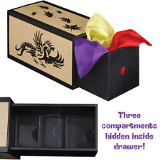 Production Drawer Box PROFESSIONAL CLOSE UP STAGE MAGIC MAGICIAN TRICK NEW