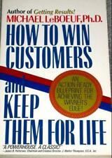 B000S6NCO2 HOW TO WIN CUSTOMERS AND KEEP THEM FOR LIFE