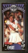 Chris Evert Tennis Card - 1993 Great Western Forum