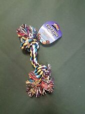 Dog Puppy Pull Play Knot Rope Toy 7""