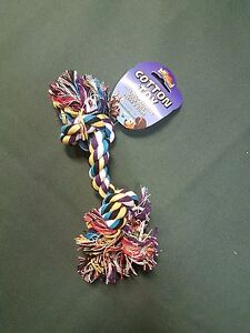 """Dog Puppy Pull Play Knot Rope Toy 7"""""""