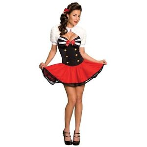 Rubies Costume's Women's Naval Pin-Up Item 889109 Sexy Navy Pinup Outfit