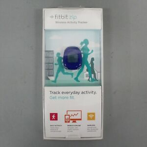 Fitbit Zip Wireless Bluetooth Activity Fitness Tracker (FB301B) Blue - New