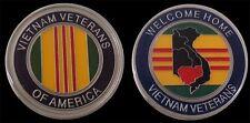 VIETNAM VETERANS CHALLENGE COIN MILITARY COINS NEW