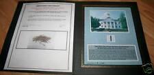 Nail from VANDALIA STATEHOUSE Abraham Lincoln w/ COA