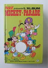 Le journal de Mickey Album Mickey Parade n°7  numéros 86.87.88 reliés + jeu