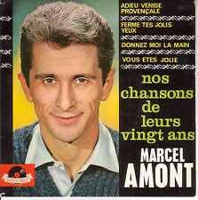 """MARCEL AMONT - 19 """"Nos chansons de leurs vingt ans > Single-EP 7""""Vinyl ,4 Titel"""