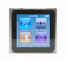 Apple iPod Nano 16GB 6th Gen Generation Silver (Power Button Faulty)