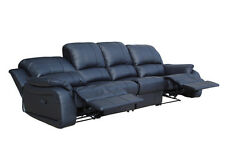 Voll-Leder 4er Couch Sofa Relaxsessel Relaxsofa Fernsehsessel 5129-4-S