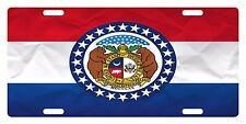 MISSOURI State Flag  Custom License Plate State Emblem PAPER Version