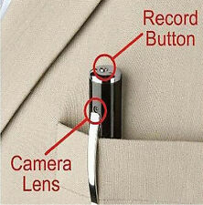 4GB Gold HD Spy Pen Camera DVR Audio Video Recorder Camcorder Mini 1280*960