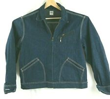 1970s Lee 91-B Sanforized Denim Jacket Usa Union Made Workwear Excellent Mens Xl