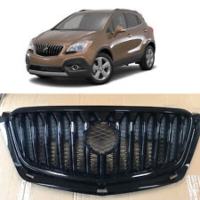 Glossy Black Upper Bumper Grill Grille Replacement for 2013 2016 Buick Encore